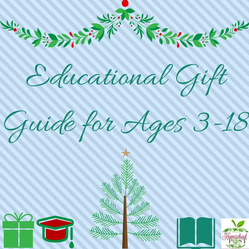 Practical, frugal, educational, AND fun! Check out this educational gift guide for homeschooling ages 3-18. hsbapost.com