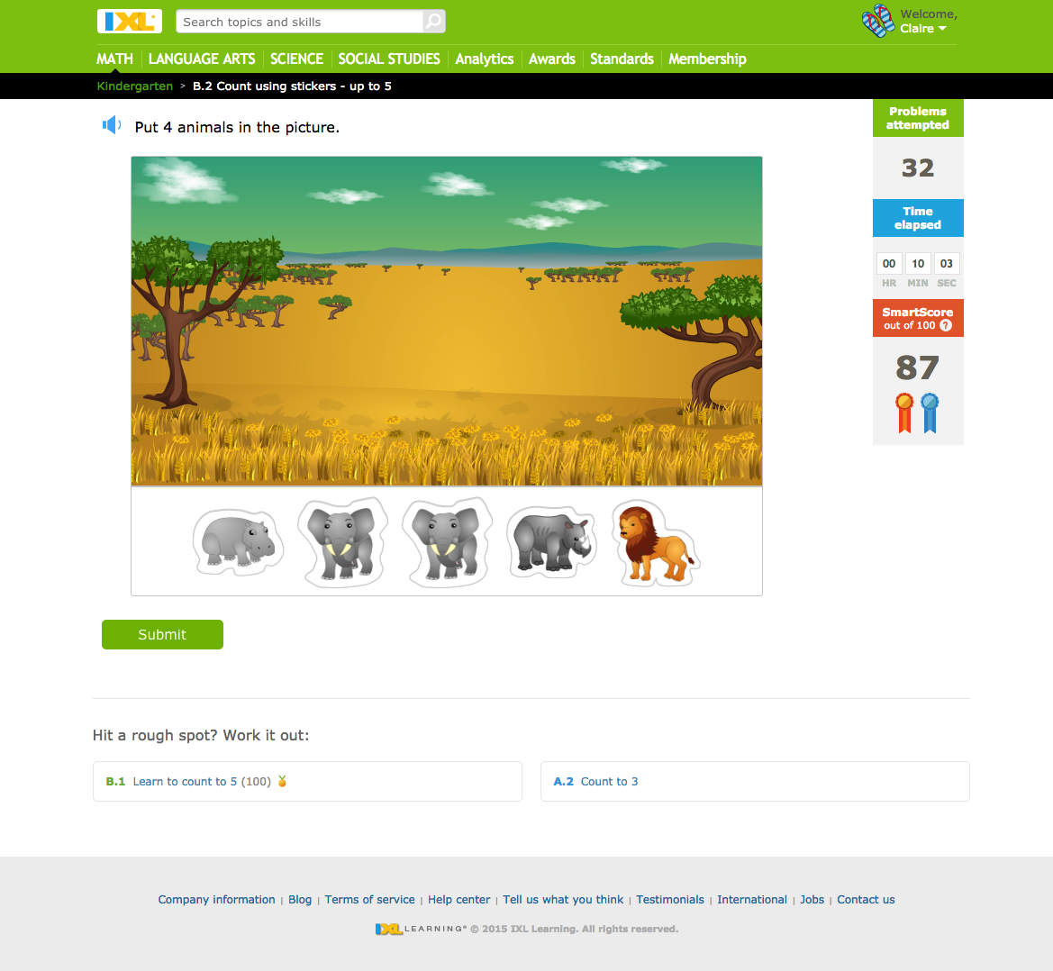 Workbooks » Ixl Free Math Worksheets - Free Printable Worksheets for ...