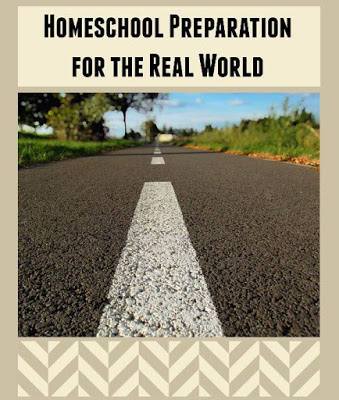 What is your strategy for homeschool preparation for the real world? Check out these suggestions from an experienced homeschool mom. Life skills homeschooling at hsbapost.com