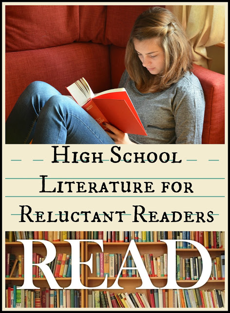 Suggested reading for High School Literature in your homeschool. Have you included these in your studies?