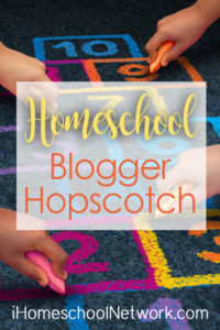 iHomeschool Network blog hopscotch