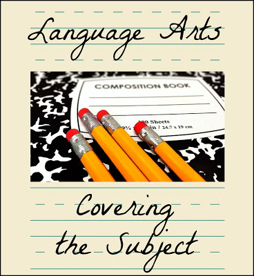 "Is it really necessary to study reading, grammar, spelling, vocabulary, composition, and literature as separate subjects? In our experience, the answer has usually been ""no"" and being able to combine the different aspects of Language Arts has kept the entire subject more manageable. Homeschooling language arts."