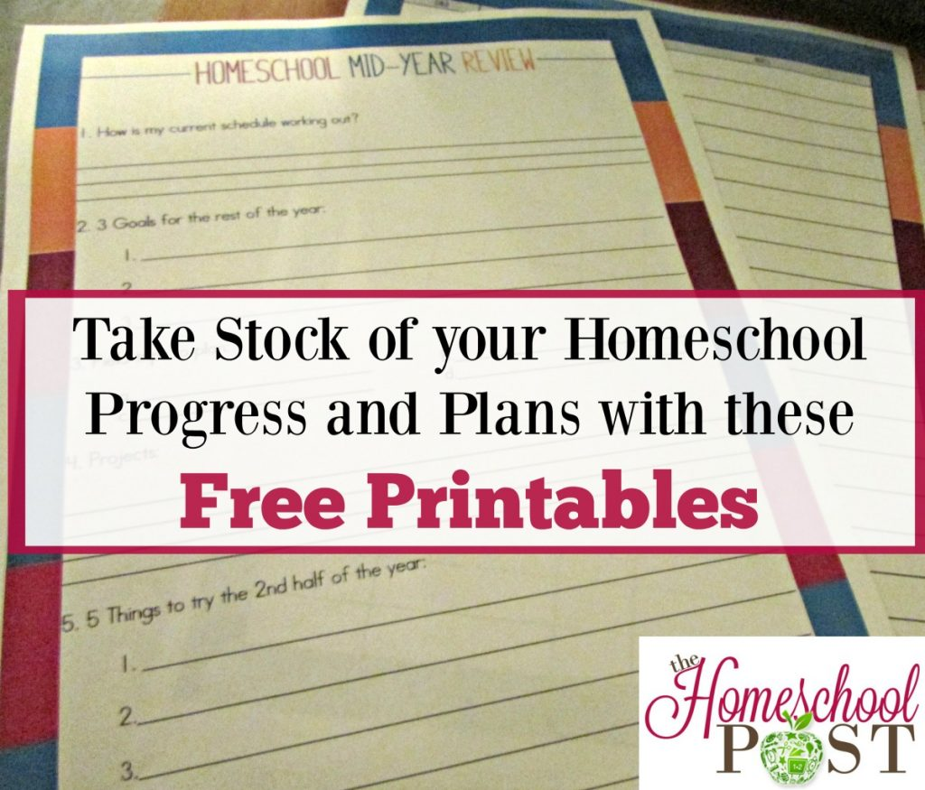 free printable homeschool review pages | planning pages | track homeschool progress
