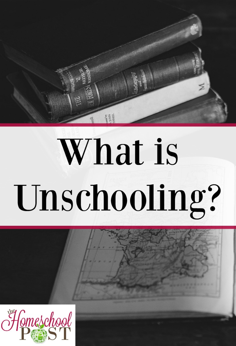 What is unschooling? Find out in the homeschool methods series at The Homeschool Post.
