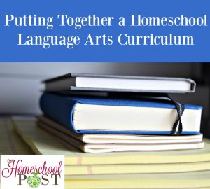 You can put together your own homeschool language arts curriculum using resources from the Homeschool Buyers Co-op.