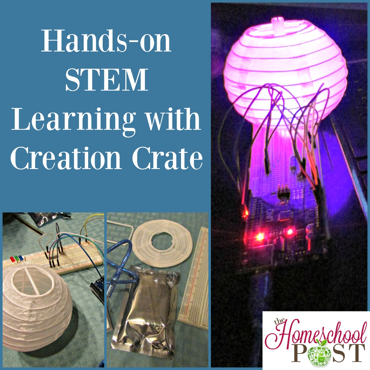 Hands-on Homeschooling STEM projects with Creation Crate
