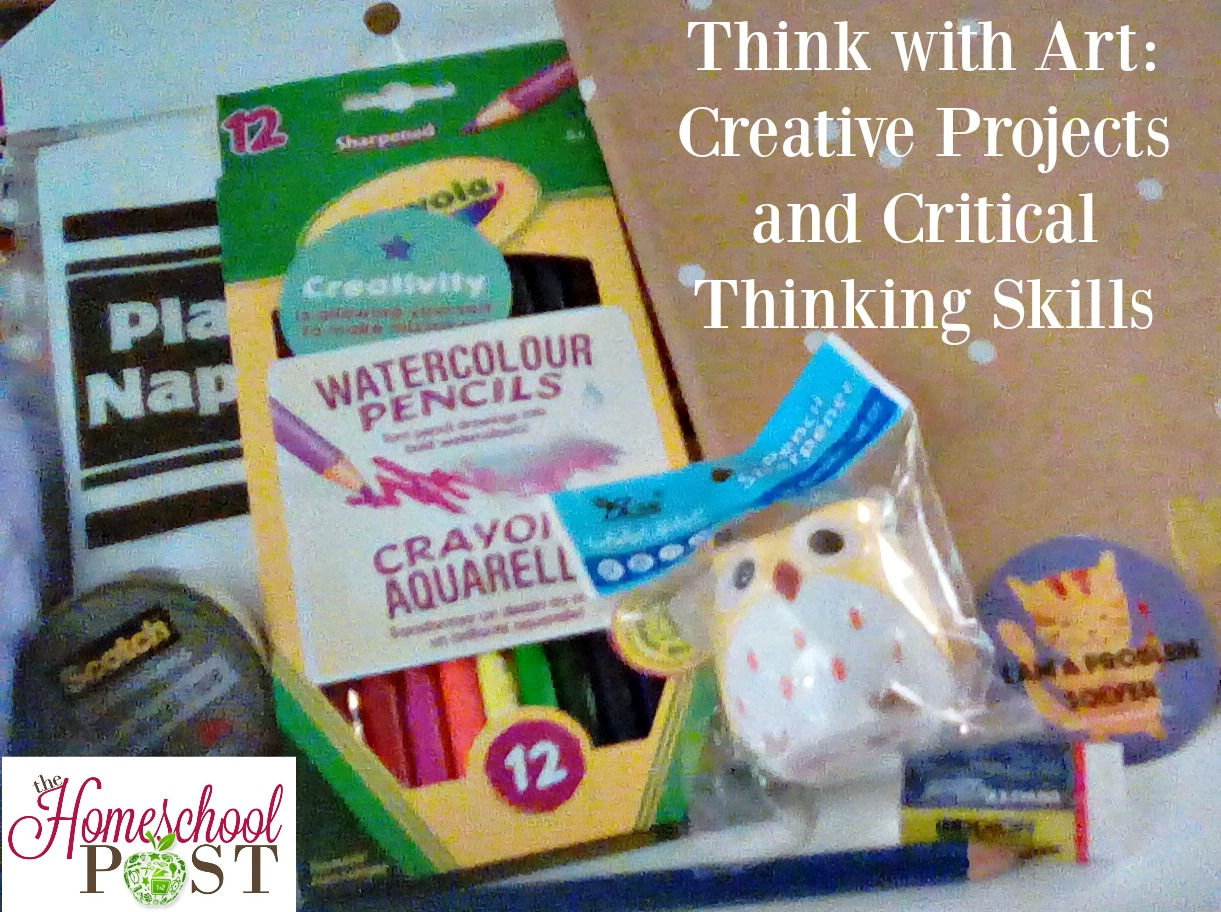 Think with Art subscription box encourages creativity and critical thinking skills.