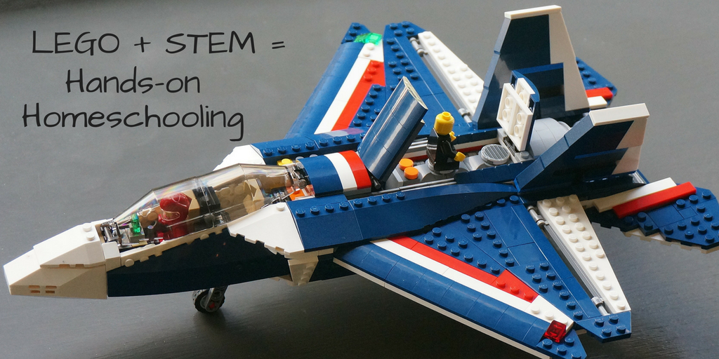 STEM LEGO activities for homeschooling