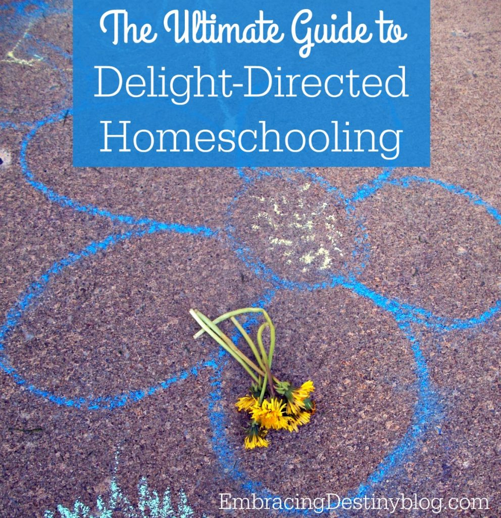 Ultimate Guide to Delight-Directed Homeschooling
