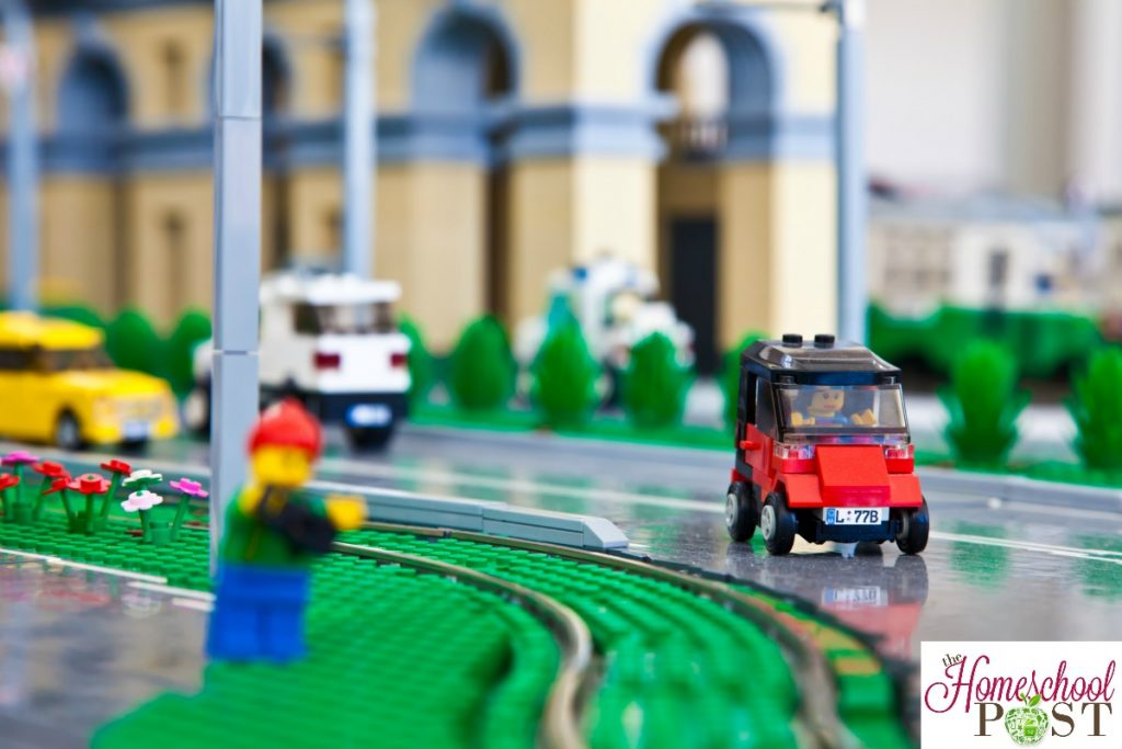Lego city street | homeschooling with LEGO