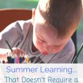 Summer learning without a textbook
