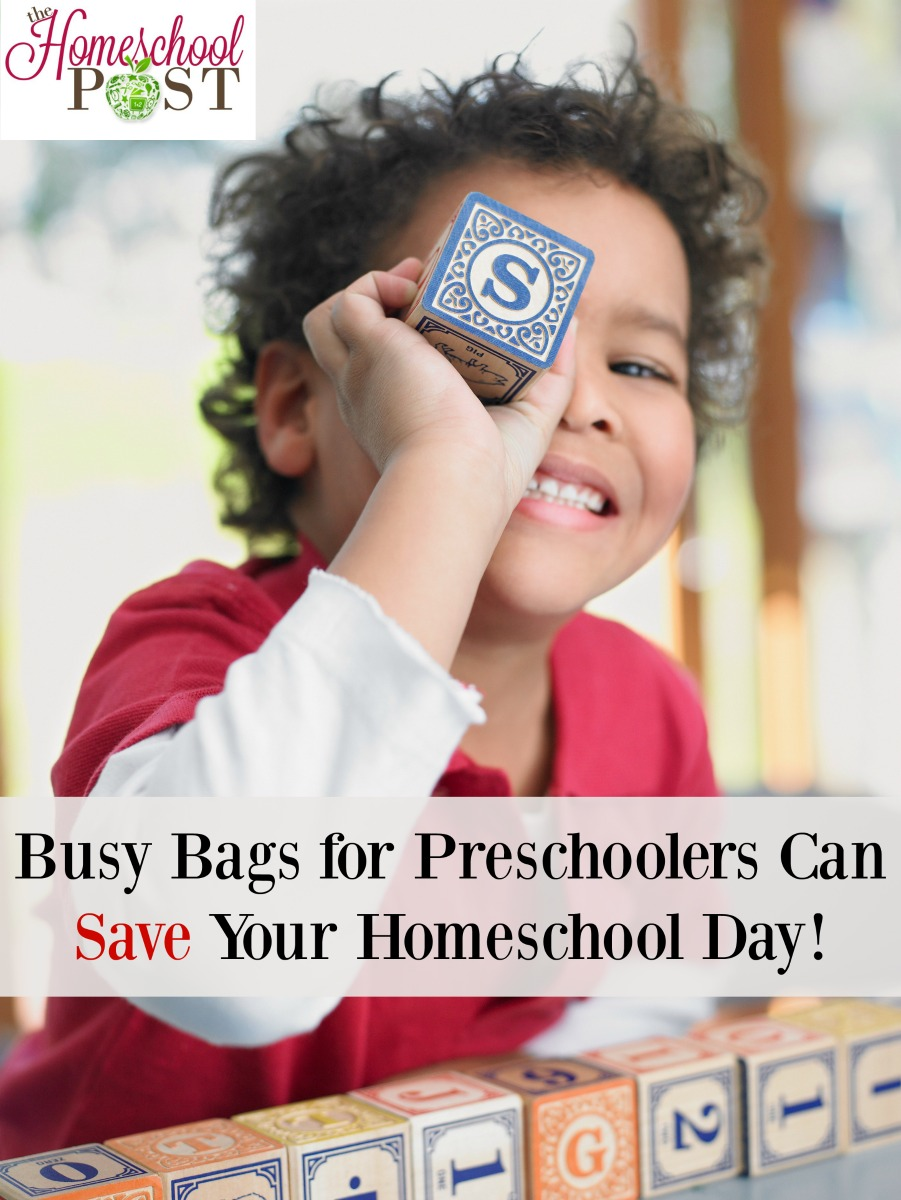 Check out these great ideas for busy bags for your toddlers and preschoolers | Homeschool preschool