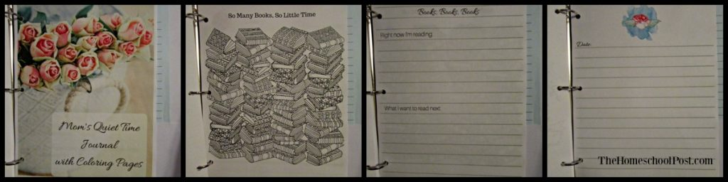 Homeschool Printing Co: Mom's Quiet Time Journal