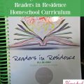Why we love Readers in Residence Homeschool Curriculum. Homeschool reading curriculum review.