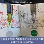 Comprehensive homeschool writing curriculum from Apologia: Writers in Residence | homeschool language arts