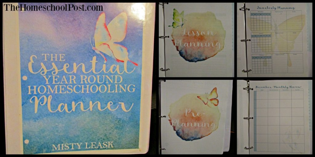 Homeschool Printing Company: Essential Year Round Homeschooling Planner