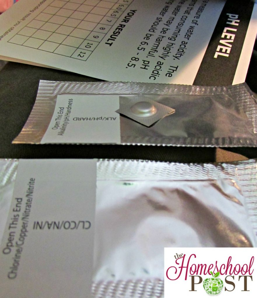 water testing kits for homeschool science