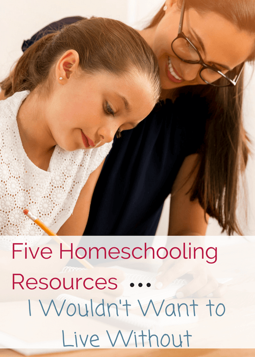 Homeschool Resources I Wouldn't Want to Do Without