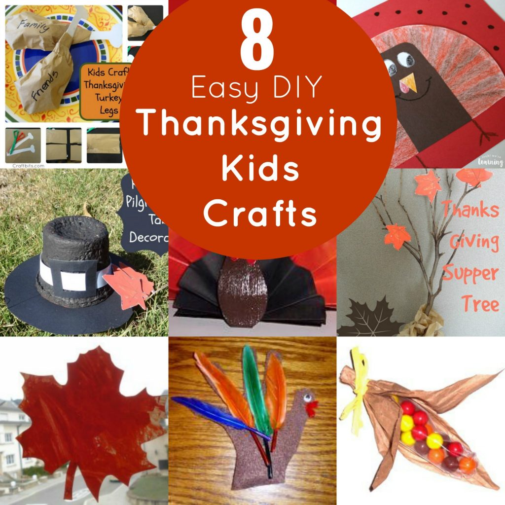 Easy DIY Thanksgiving crafts for kids