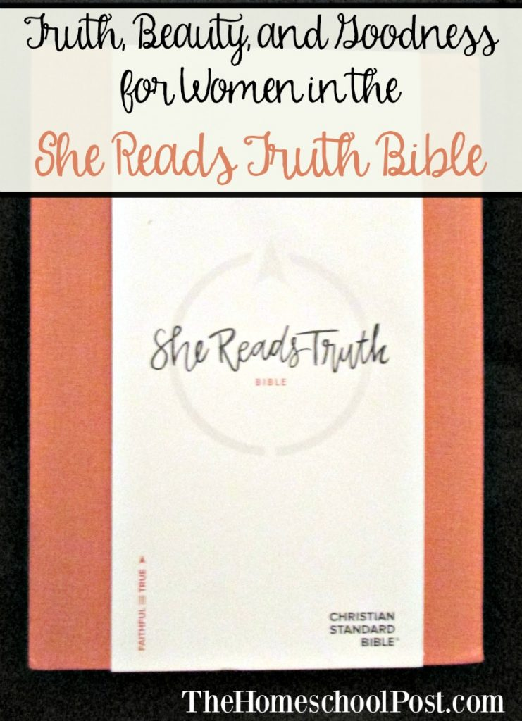 She Reads Truth Bible review and giveaway