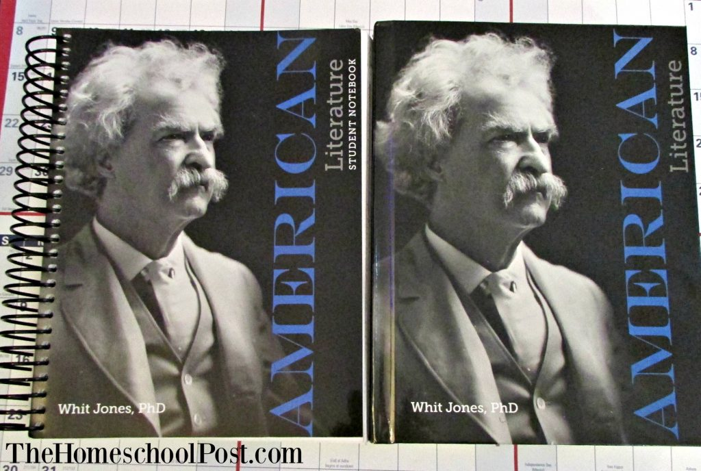 Apologia American Literature for high school   homeschooling