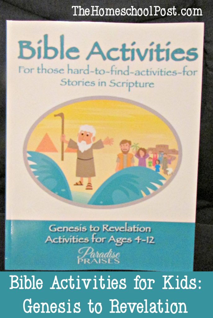 Bible activities for kids | homeschooling Bible lessons and activities